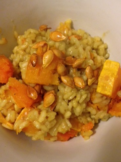 Curried Butternut Squash Risotto