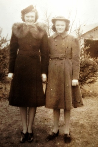 My grandmother and Great Aunt Nancy in the late 1930's. They are still this beautiful.