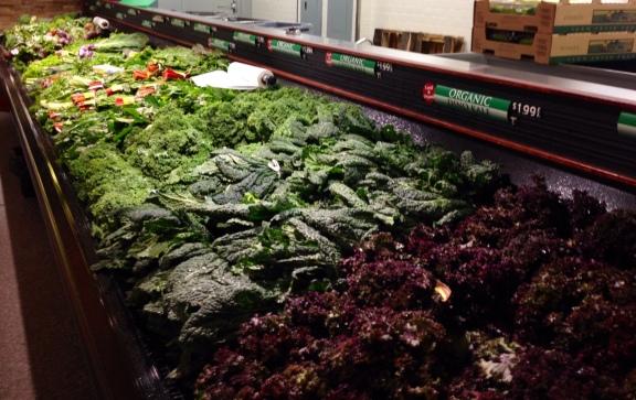 Organic Greens at Jimbo's San Diego